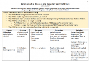Illness and Infectious Disease | NC Child Care Health and ...