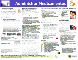 Medication Poster Spanish 4.2021